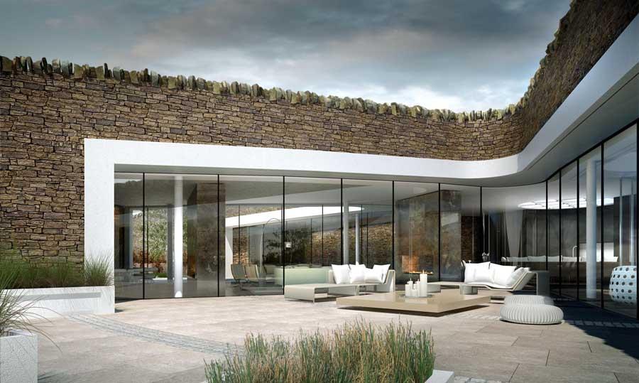 Eco-maison de Gary Neville Bolton Royaume-Uni4
